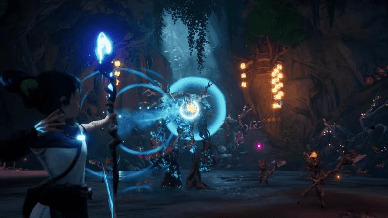 Kena Bridge of Spirits Combat