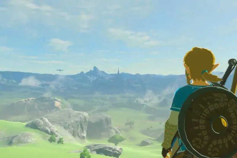 A still from Zelda BOTW