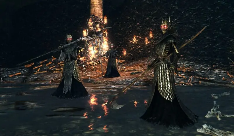 The Skeleton Lords from Dark Souls 2