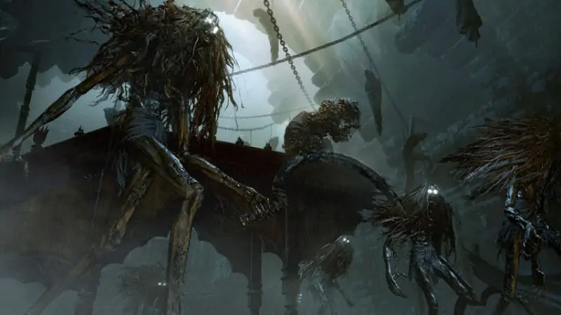 The Witch of Hemwick from Bloodborne