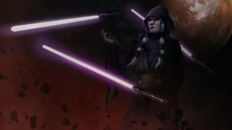 Darth Traya from Star Wars: Knights of the Old Republic II – The Sith Lords