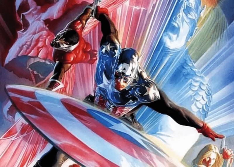 Marvel-Captain-America-Bucky-Falcon-Alex-Ross