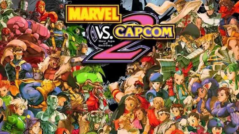 Marvel vs Capcom 2 New Age of Heroes