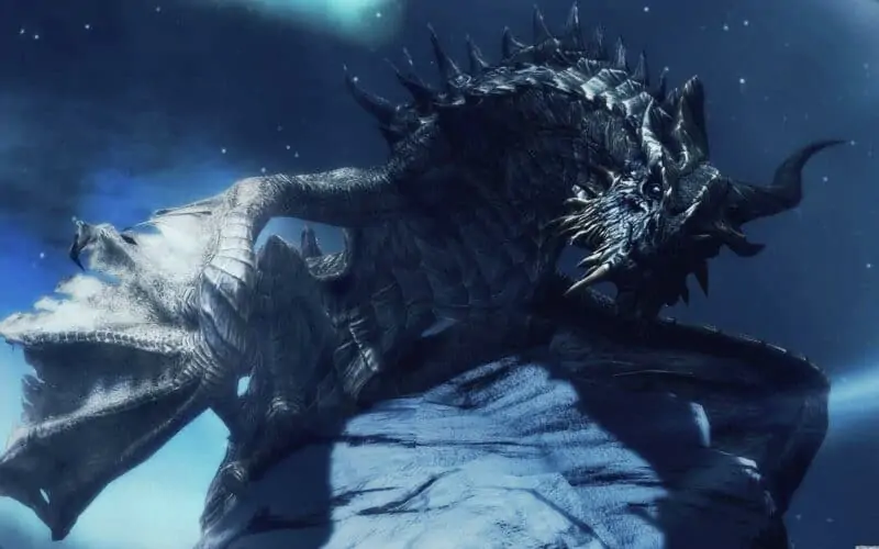 Paarthurnax from Skyrim