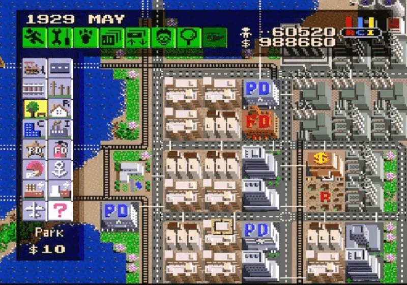 SNES-Sim-City