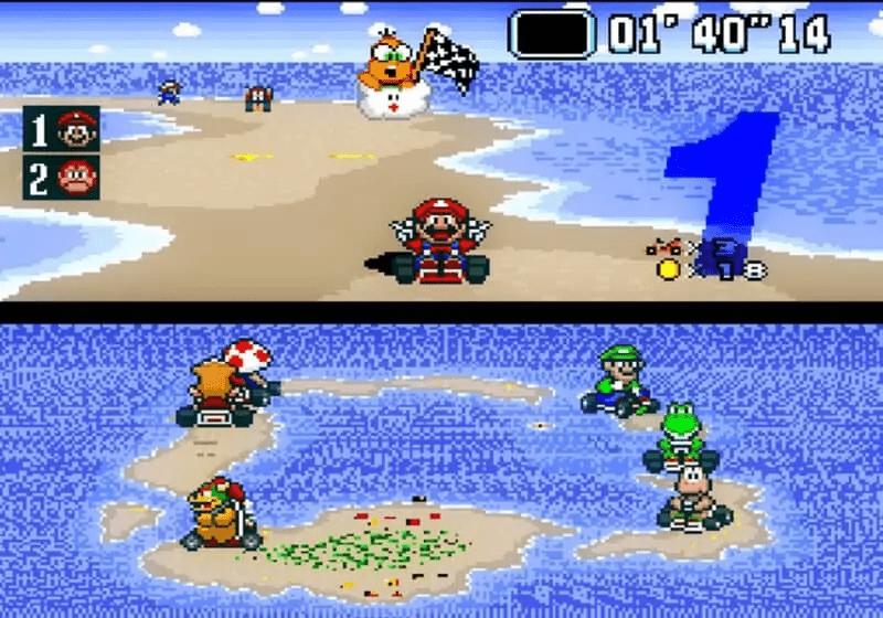SNES-Super-Mario-Kart