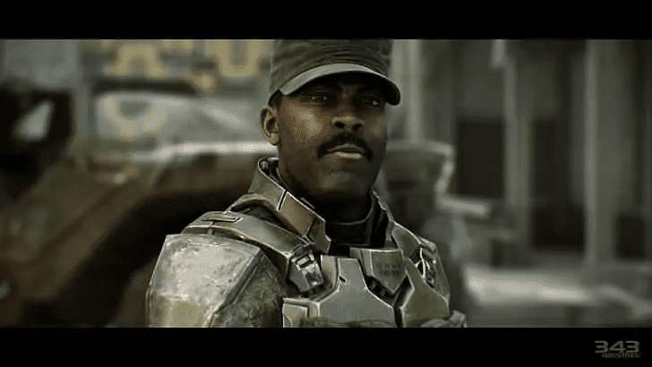 Sergeant Avery Johnson from Halo