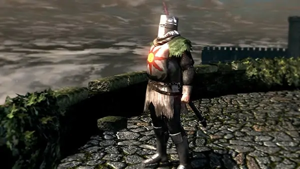 Solaire of Astora from Dark Souls