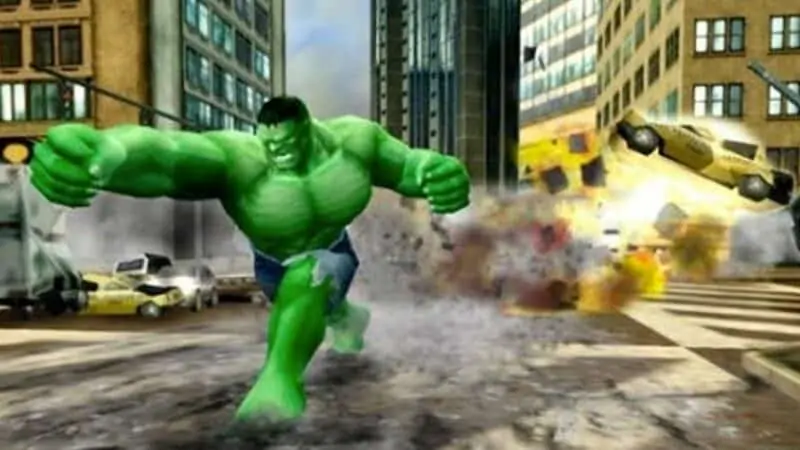 The Incredile Hulk- Ultimate Destruction