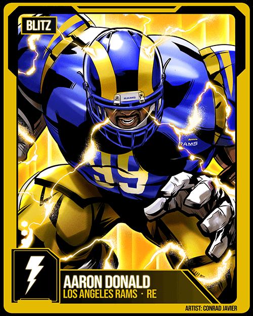 Aaron Donald Madden NFL 21