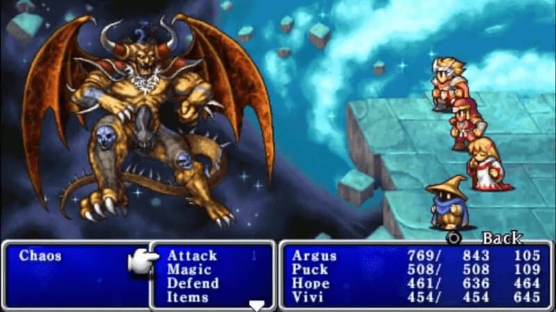 Chaos - Final Fantasy