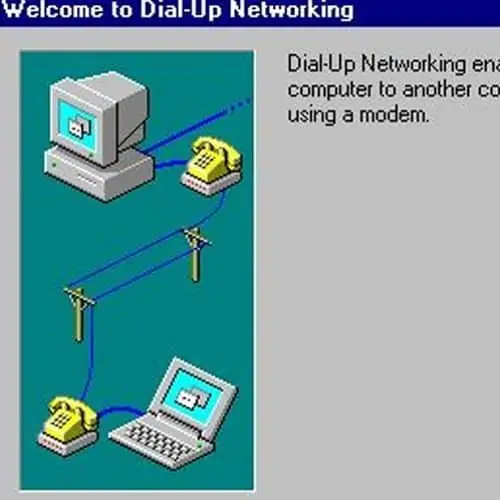 Dial Up Connections