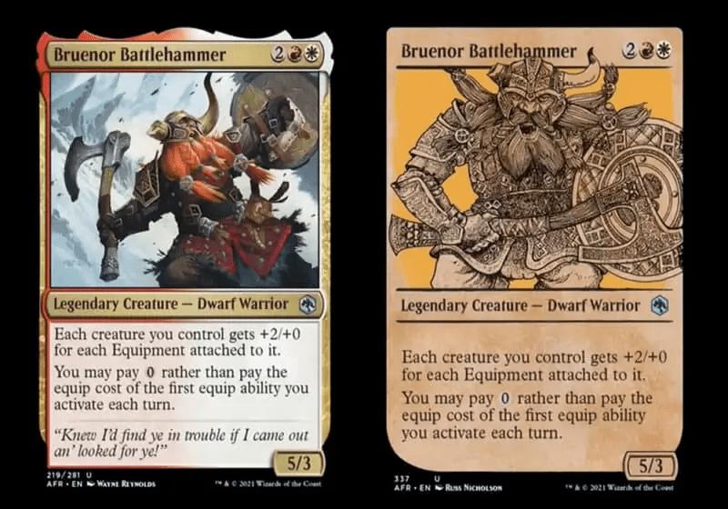 Dungeons-and-Dragons-Forgotten-Realms-Magic-The-Gathering-Bruenor-Battlehammer