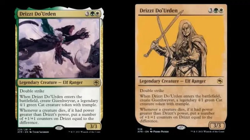 Dungeons-and-Dragons-Forgotten-Realms-Magic-The-Gathering-Drizzt-Do-Urden
