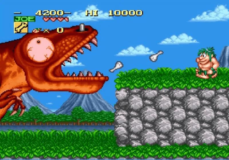 Earthbound-Nintendo-Joe-and-Mac-Cave-Ninja-SNES