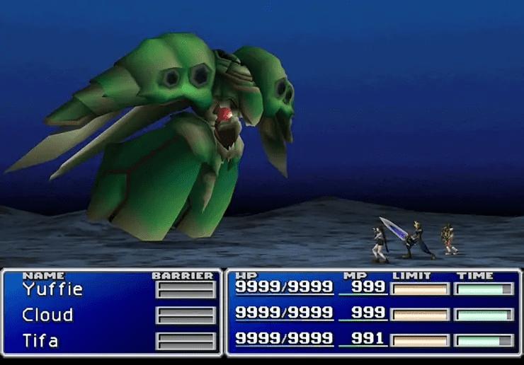 Emerald Weapon - Final Fantasy 7