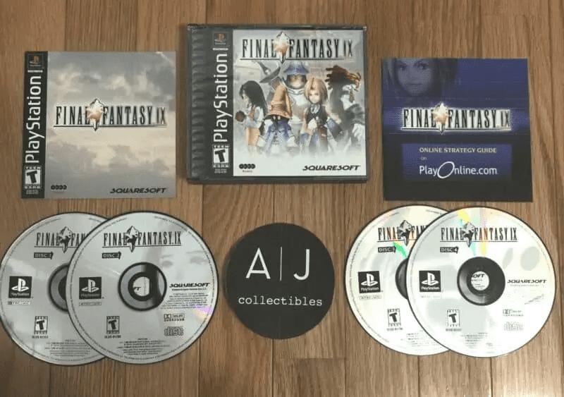 Final Fantasy 9 on 4 Discs