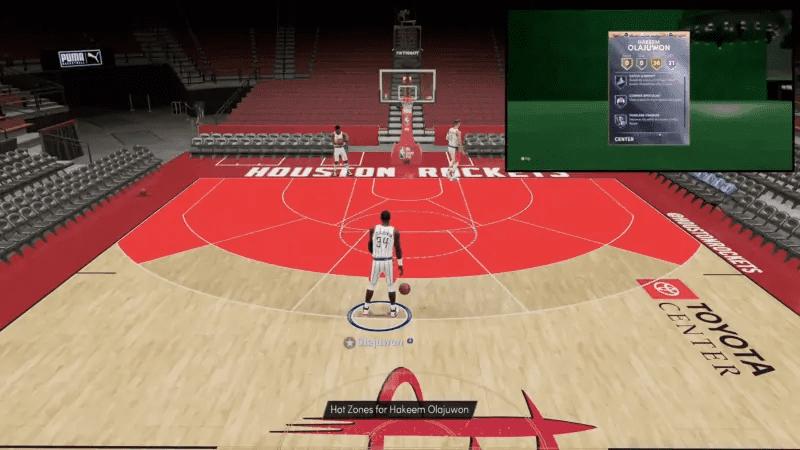 Hakeem Olajuwon in NBA 2K21