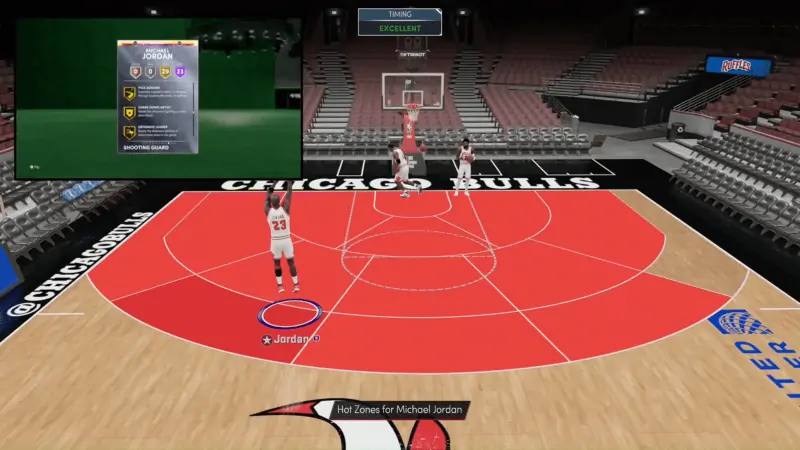 Michael Jordan in NBA 2K21
