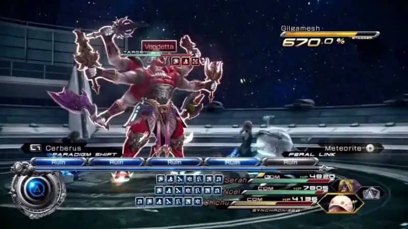 Gilgamesh - Final Fantasy 13-2