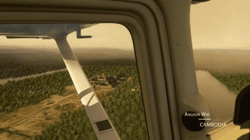 Microsoft Flight Simulator - Angkor Wat