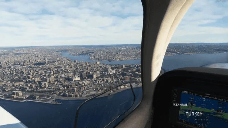 Microsoft Flight Simulator - Hagia Sofia