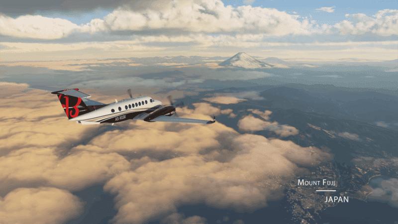 Microsoft Flight Simulator - Mount Fuji