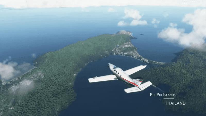 Microsoft Flight Simulator - Phi Phi Islands