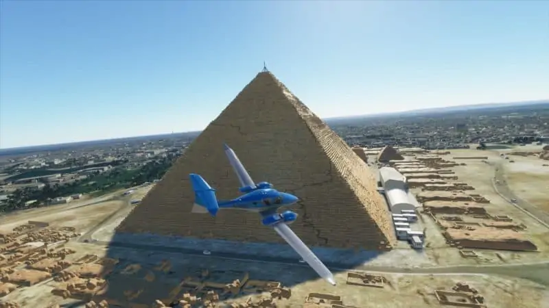 Microsoft Flight Simulator - Pyramids