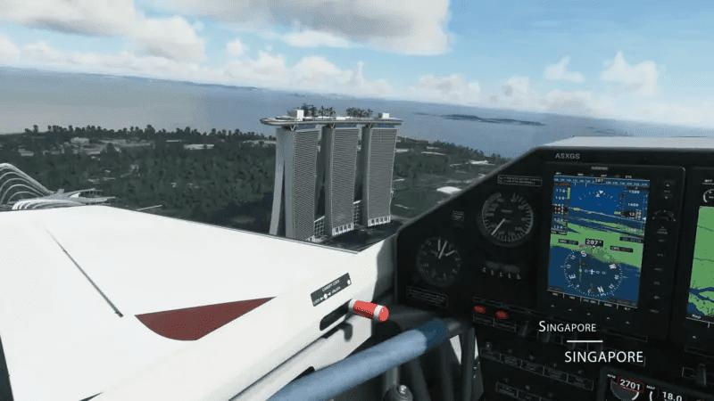 Microsoft Flight Simulator - Singapore