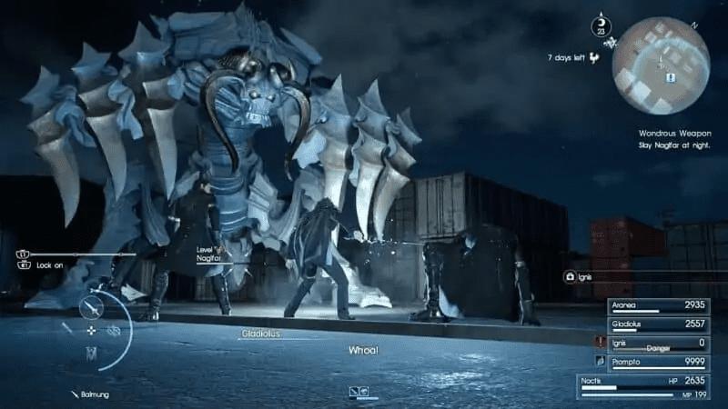 Omega - Final Fantasy 15