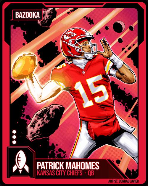 Patrick Mahomes Madden NFL 21