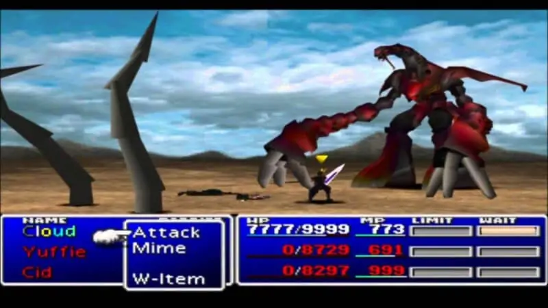 Ruby Weapon - Final Fantasy 7
