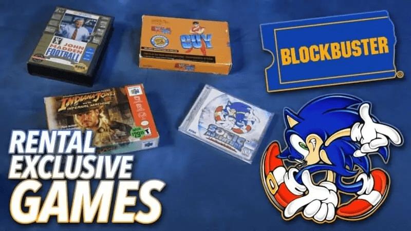 Video Game Rentals at Blockbuster