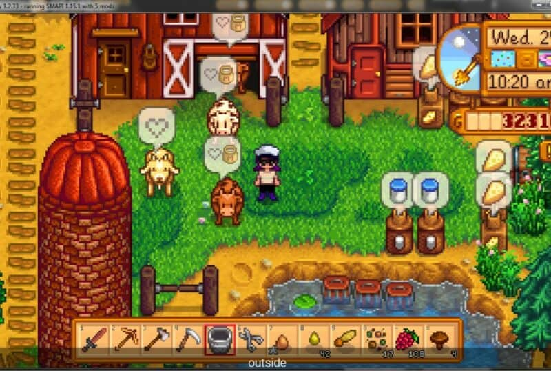 Better Ranching Mod for Stardew Valley