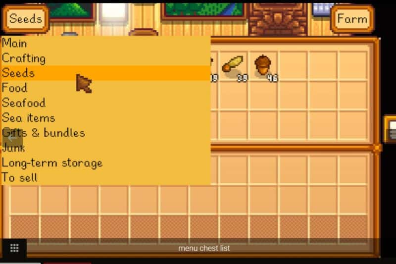 Chests Anywhere Mod for Stardew Valley