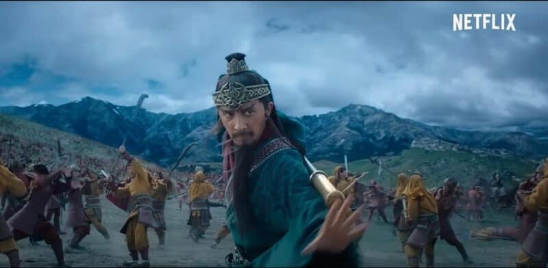 Dynasty-Warriors-Netflix-Guan-Yu-Battle