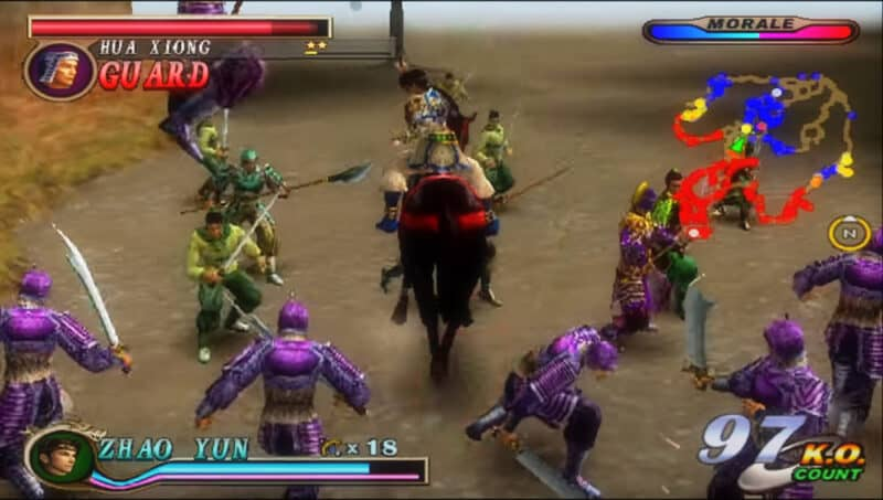 Dynasty-Warriors-Netflix-Playstation-2-Battle