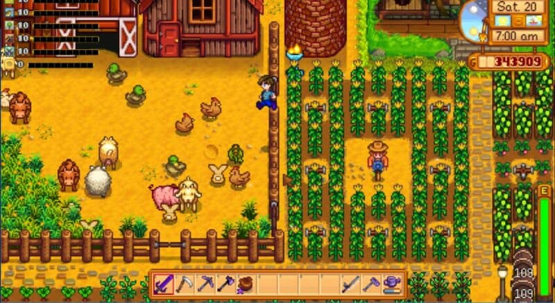 Jump Over Mod for Stardew Valley