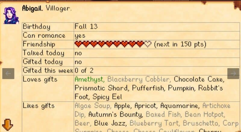 Lookup Anything Mod for Stardew Valley