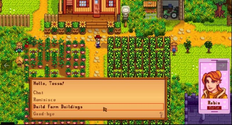 Mobile Phone Mod for Stardew Valley