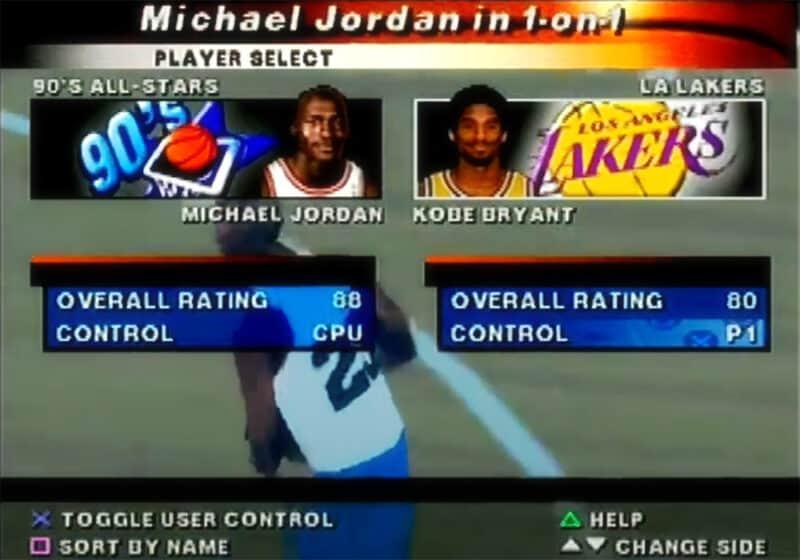 Sony-Playstation-NBA-Live-2000-Jordan-Kobe