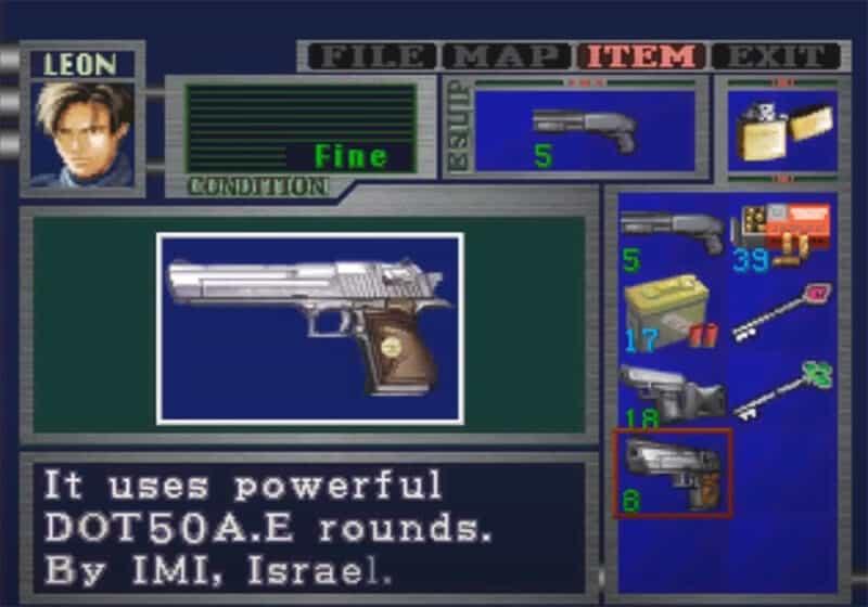 Sony-Playstation-Resident-Evil-2