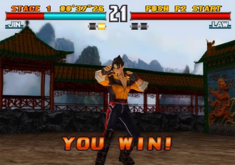 Sony-Playstation-Tekken-3-Jin-Kazama