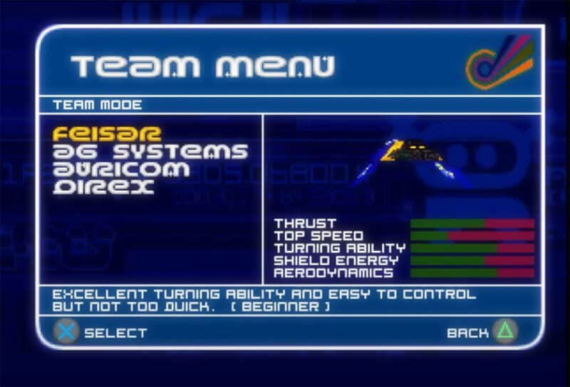Sony-Playstation-Wipeout-XL-Feisar