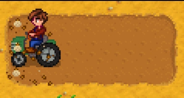 Tractor Mod for Stardew Valley