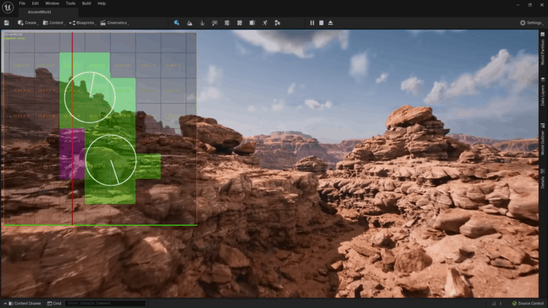 World Partition System Unreal Engine 5