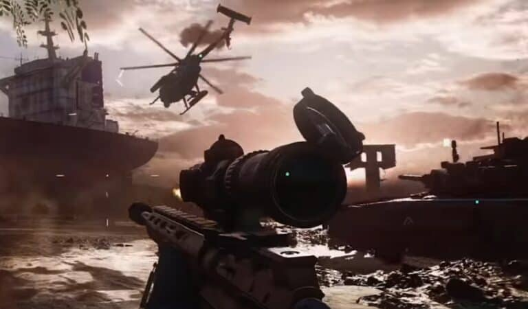 The First Battlefield 2042 Gameplay Footage Is Here