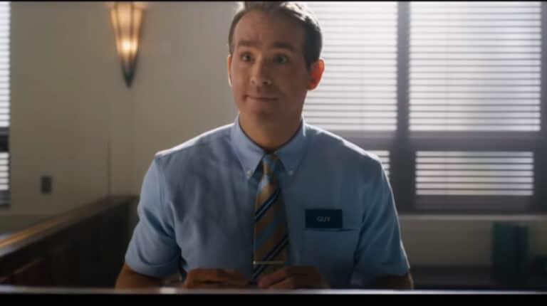 Free-Guy-Ryan-Reynolds-Reaction-Bank-Teller-Review-Critics