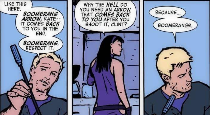 Hawkeye-Marvel-Disney-Kate-Clint-Arrows-Comics
